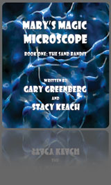 Mary's Magic Microscope Childrens Book by Gary Greenberg and Stacy Keach