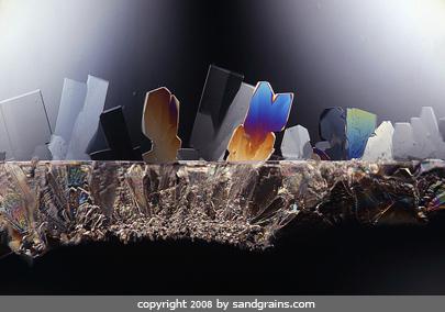 Microscope Sugar Crystals Sugar Under The Microscope