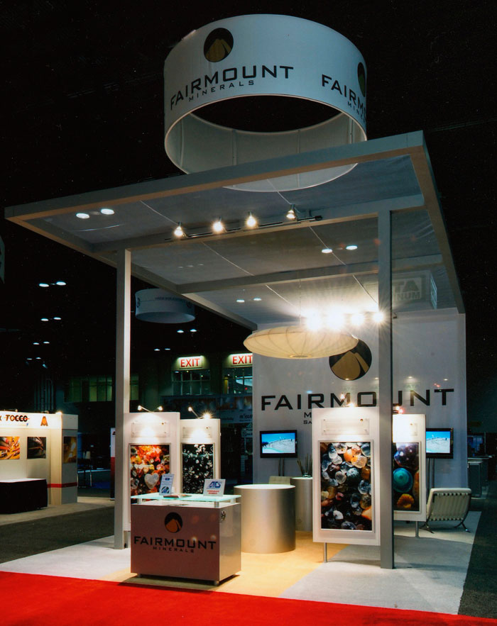 Use Microscope Photography for Trade Show Exhibit Booth art